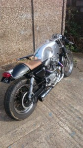 1200 Harley Davidson Cafe Racer - rewired by Electro34